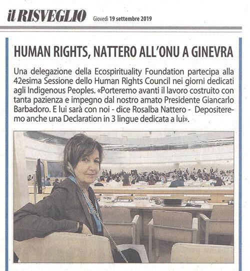 Il-Risveglio-19-09-2019-Ecospirituality-Foundation-ONU-Ginevra